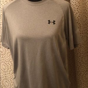 Medium Grey UnderArmour HeatGear Shirt
